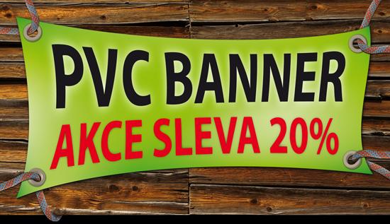 PVC reklamní plachty se slevou 20%