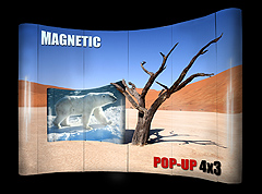 Magnetic Pop-Up 4x3